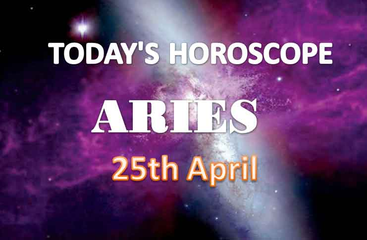 aries daily horoscope for today sunday april 25th 2021