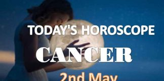 cancer daily horoscope for today sunday may 2nd 2021