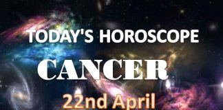 cancer daily horoscope for today thursday april 22nd 2021