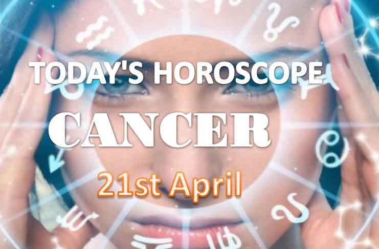 cancer daily horoscope for today wednesday april 21st 2021