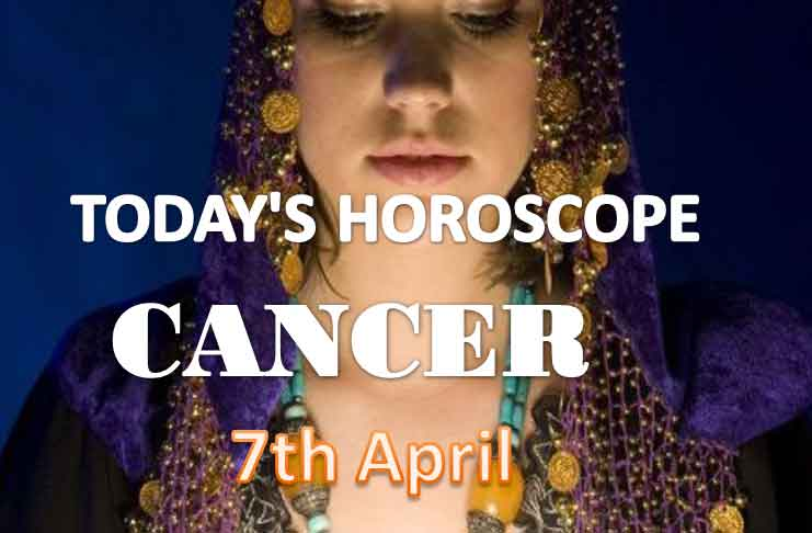 cancer daily horoscope for today wednesday april 7th 2021