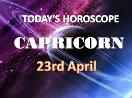capricorn daily horoscope for today friday april 23rd 2021