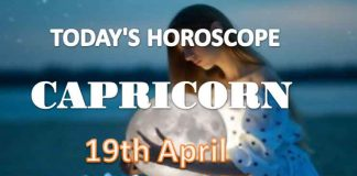 capricorn daily horoscope for today monday april 19th 2021