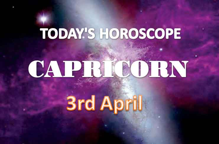 capricorn daily horoscope for today saturday april 3rd 2021