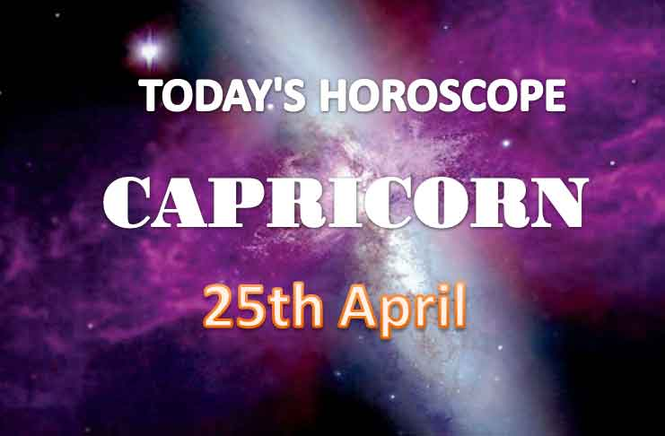 capricorn daily horoscope for today sunday april 25th 2021