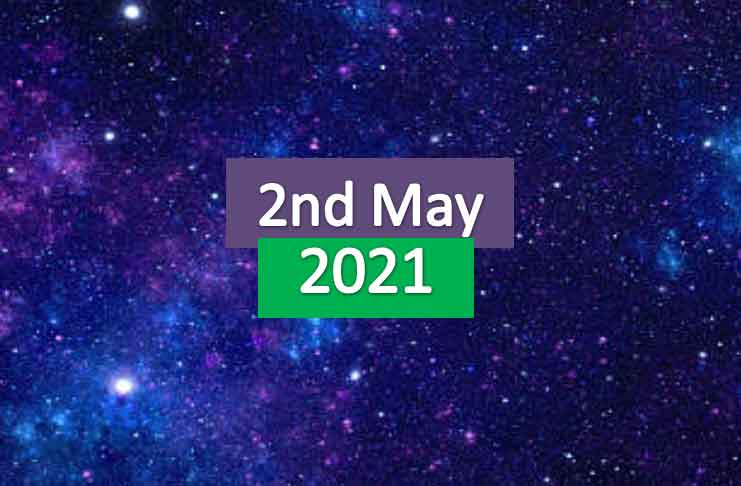 daily horoscope today 2nd may 2021