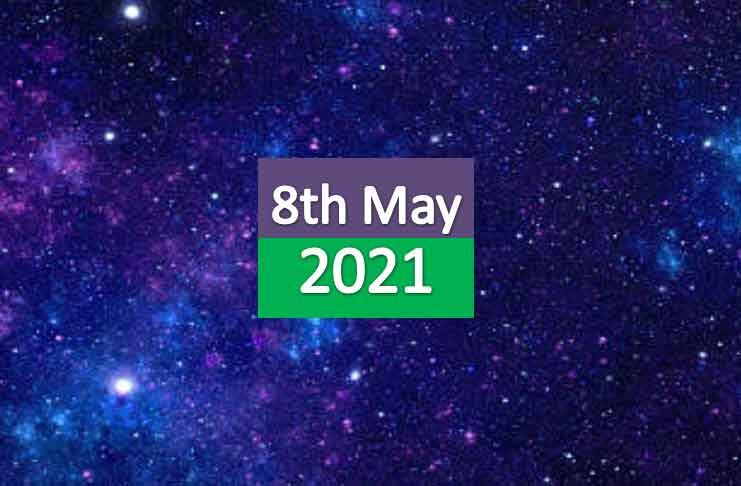 daily horoscope today 8th may 2021