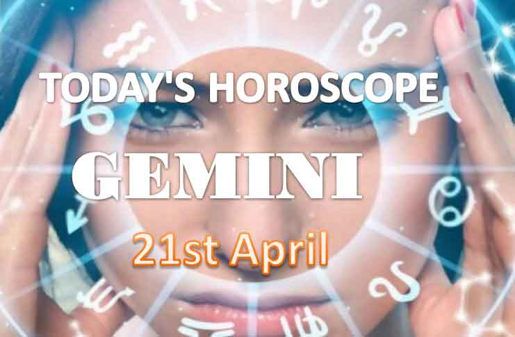 gemini daily horoscope for today wednesday april 21st 2021
