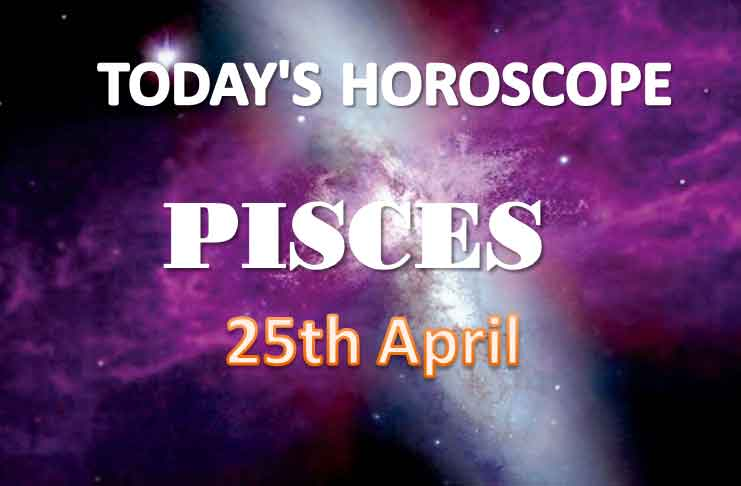 pisces daily horoscope for today sunday april 25th 2021