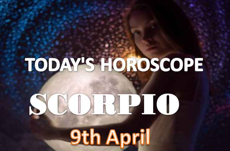scorpio daily horoscope for today friday april 9th 2021