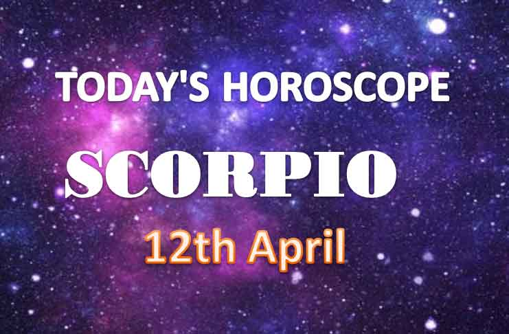 scorpio daily horoscope for today monday april 12th 2021
