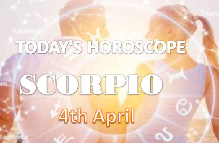 scorpio daily horoscope for today sunday april 4th 2021