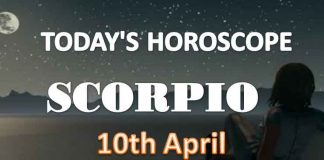 scorpio daily horoscope for today saturday april 10th 2021