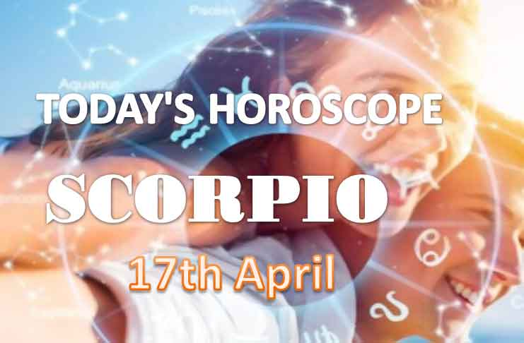 scorpio daily horoscope for today saturday april 17th 2021