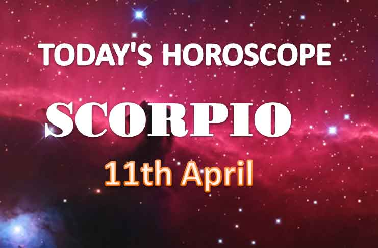scorpio daily horoscope for today sunday april 11th 2021
