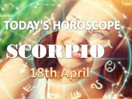scorpio daily horoscope for today sunday april 18th 2021