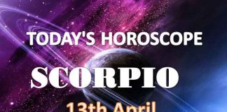 scorpio daily horoscope for today tuesday april 13th 2021