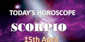 scorpio daily horoscope for today thursday april 15th 2021