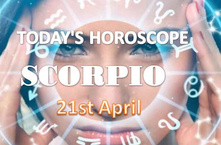 scorpio daily horoscope for today wednesday april 21st 2021