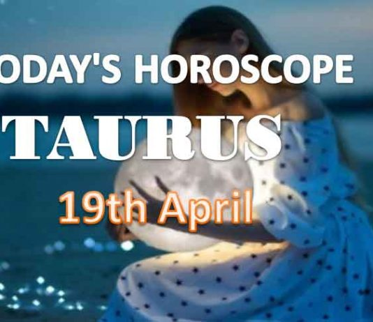 taurus daily horoscope for today monday april 19th 2021