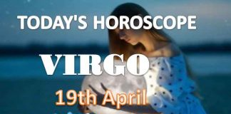 virgo daily horoscope for today monday april 19th 2021