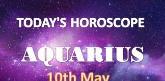 aquarius daily horoscope for today monday may 10th 2021