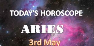 aries daily horoscope for today monday may 3rd 2021