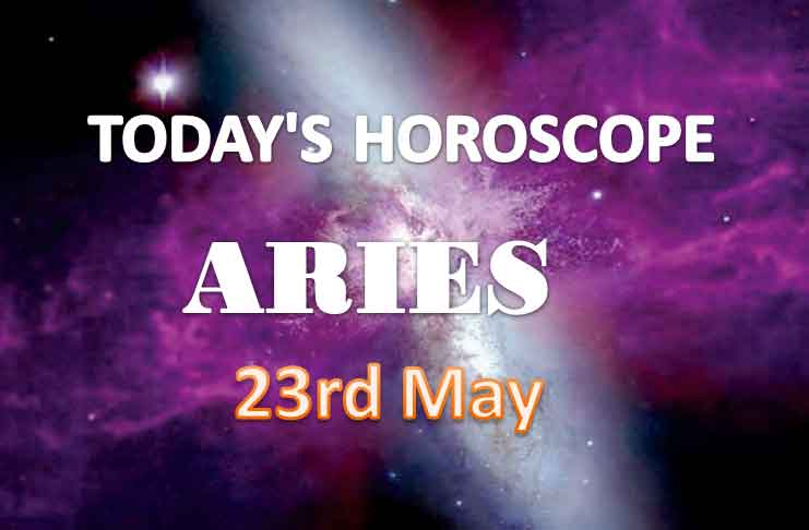 aries daily horoscope for today sunday may 23rd 2021