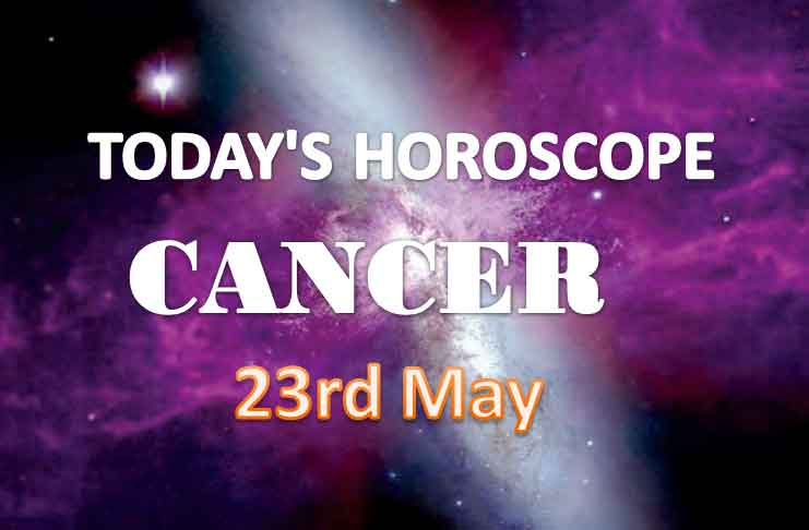 cancer daily horoscope for today sunday may 23rd 2021
