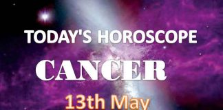 cancer daily horoscope for today thursday may 13th 2021