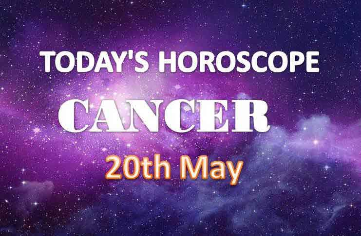 cancer daily horoscope for today thursday may 20th 2021