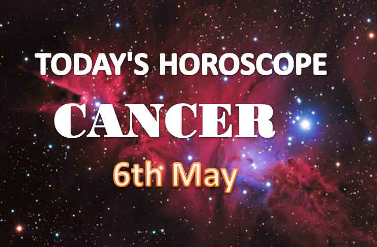 cancer daily horoscope for today thursday may 6th 2021