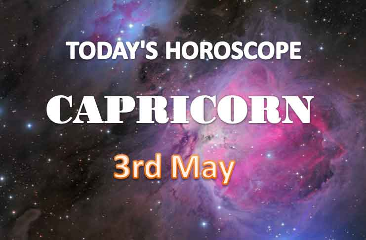 capricorn daily horoscope for today monday may 3rd 2021