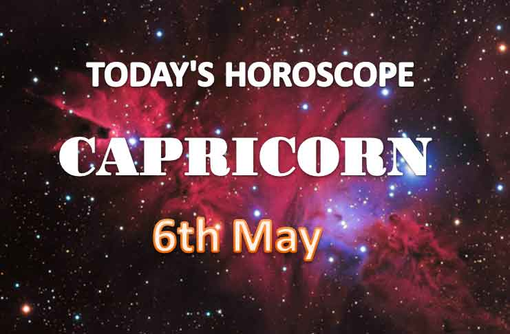capricorn daily horoscope for today thursday may 6th 2021