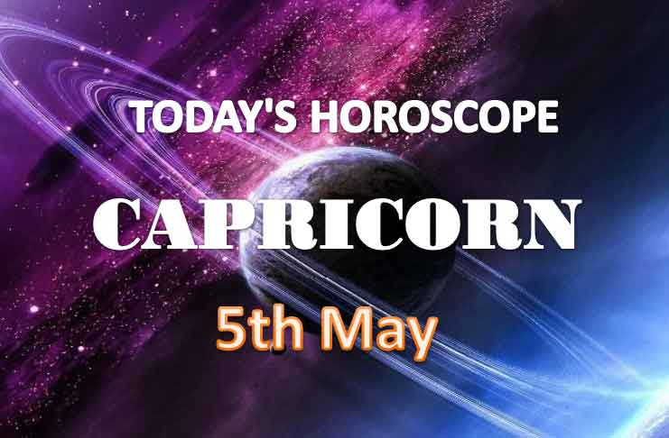 capricorn daily horoscope for today wednesday may 5th 2021