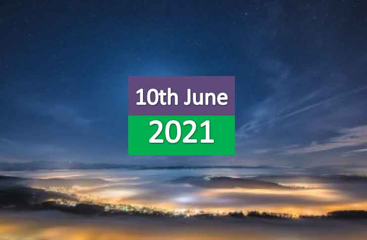 daily horoscope today 10th june 2021