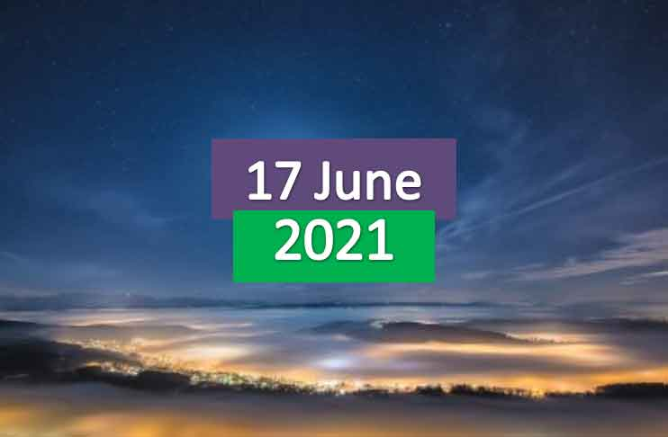 daily horoscope today 17th june 2021