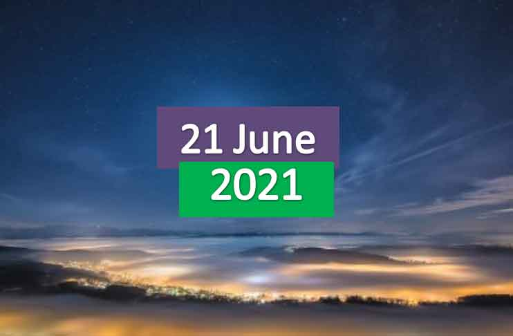 daily horoscope today 21st june 2021