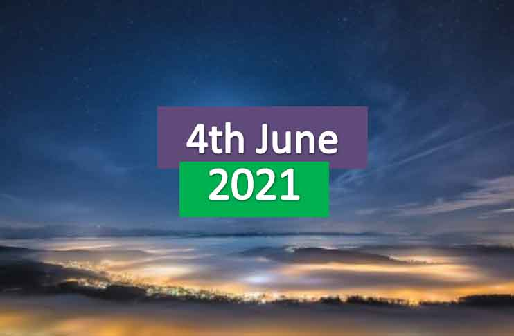 daily horoscope today 4th june 2021