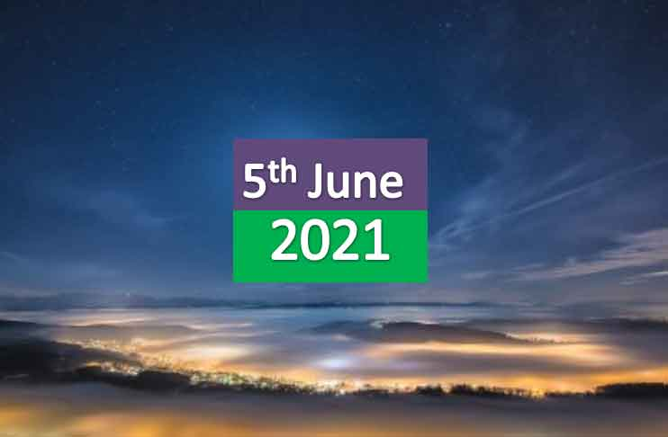 daily horoscope today 5th june 2021