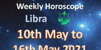 libra weekly horoscope for 10th to 16th may 2021