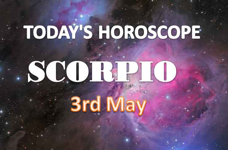scorpio daily horoscope for today monday may 3rd 2021