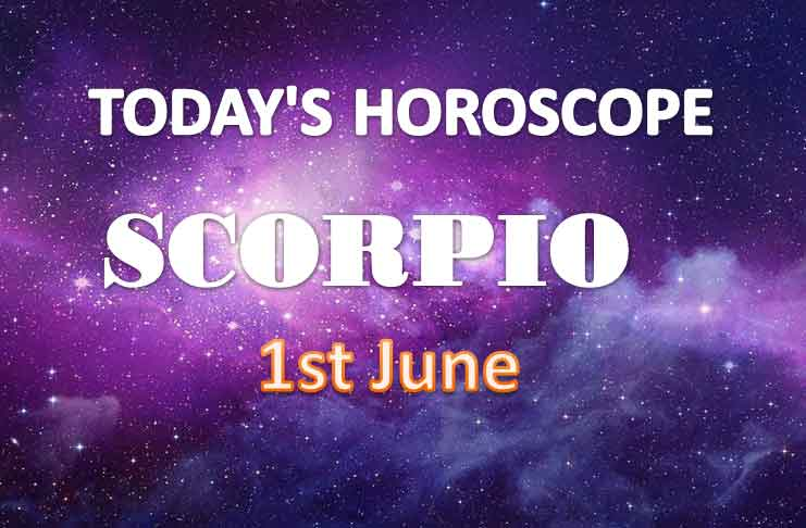 scorpio daily horoscope for today tuesday june 1st 2021