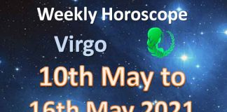 virgo weekly horoscope for 10th to 16th may 2021