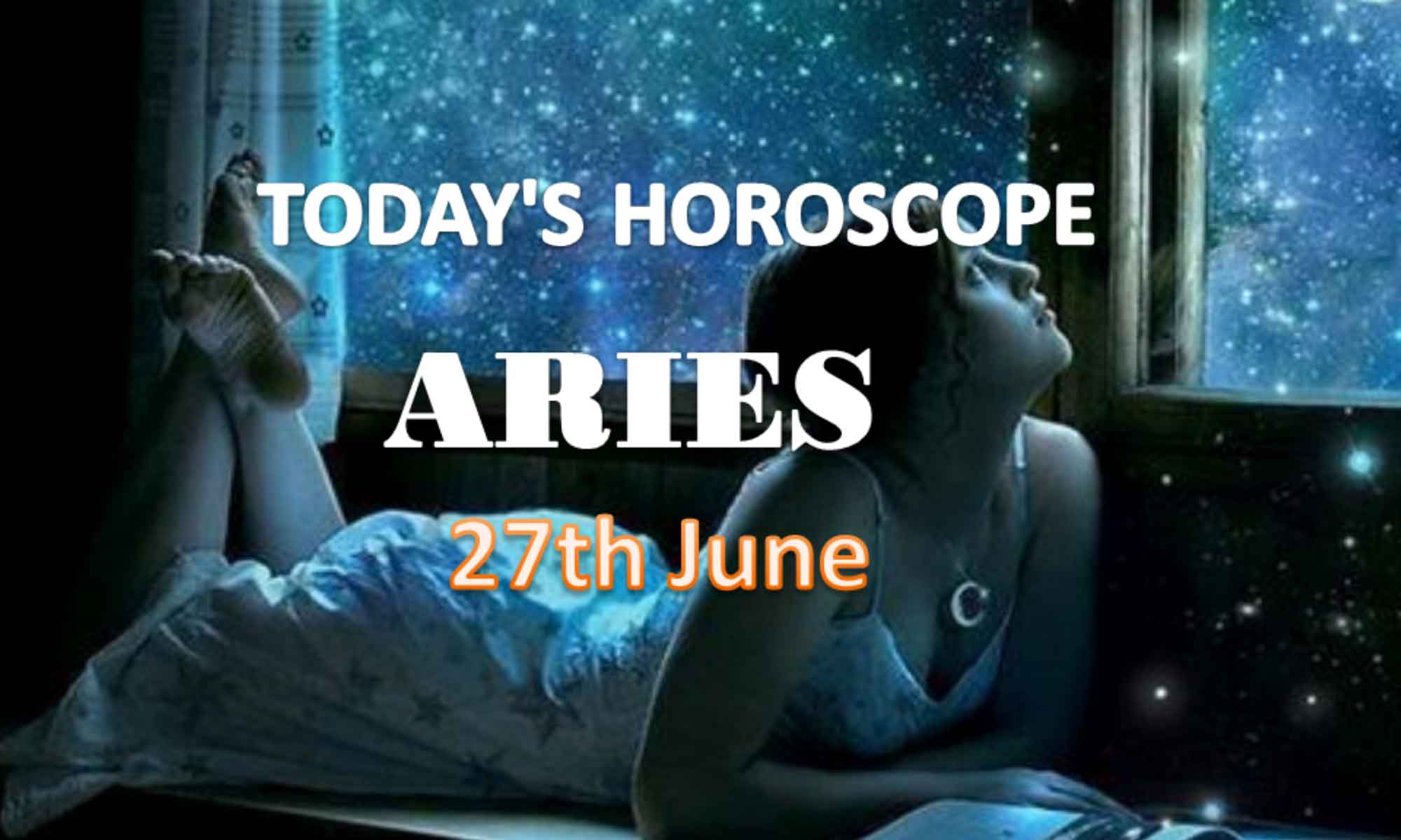 aries daily horoscope for today sunday june 27th 2021