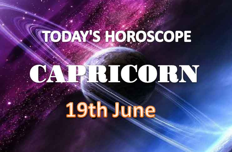 capricorn daily horoscope for today saturday june 19th 2021