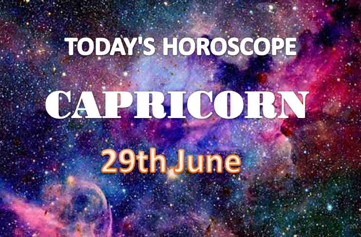 capricorn daily horoscope for today tuesday june 29th 2021