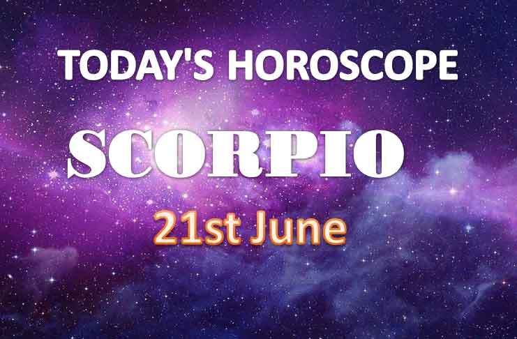scoprio daily horoscope for today monday june 21st 2021