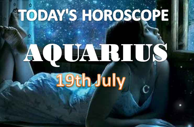 aquarius daily horoscope for today monday july 19th 2021