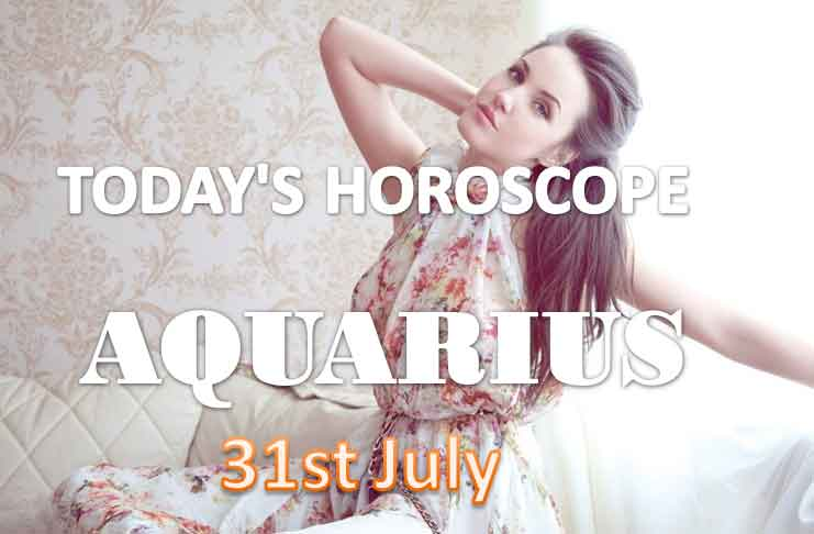 aquarius daily horoscope for today saturday july 31st 2021